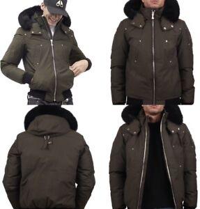 Men's MOOSE KNUCKLE bomber jacket (warm to -40c)