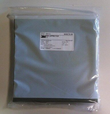 3m Lapping Film Sheet 468x 30mic 3mil 8.5x8.5 Silicon Cardbide Adhesive 50pack