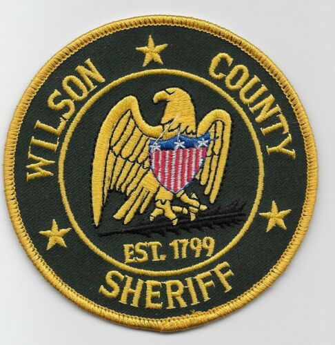 Wilson County Sheriff State Tennessee TN Full Color