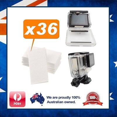 36 x Anti Fog Strip Inserts for Sony FDR-X3000 - No Moisture / Condensation