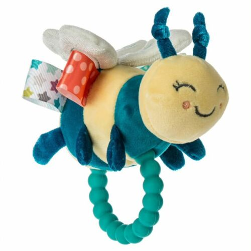 MARY MEYER Taggies Fuzzy Buzzy Bee Baby Rattle Teether
