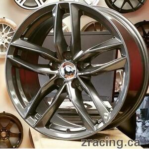 17 Inch Audi Winter Tires Rims $1200 (4 Rims + 4 Bridgestone Blizzak LM32 ) Zracing 9056732828