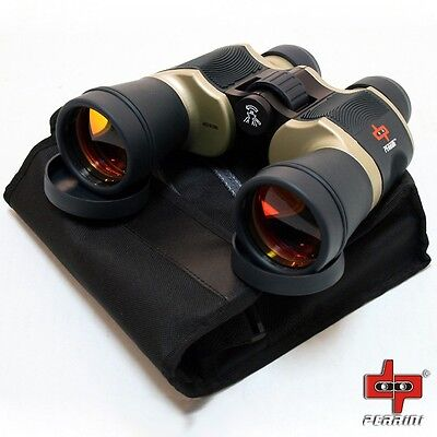 Day/Night 20x60 High Quality Outdoor Bronze Binoculars Hunting Outdoor Camping