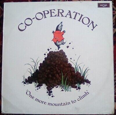 """Co-Operation, Jonathan Cohen, One More Mountain to Climb 12"""" LP Argo ZDA 160"""