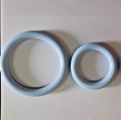 Ring Vaginal Pessary Silicone For Vaginal Prolapse Set Of 2 Sizes 85mm 90mm