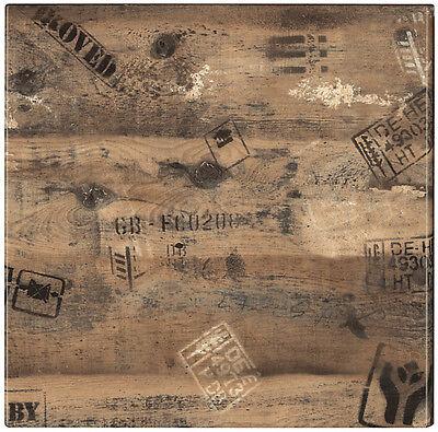 Tischplatte Werzalit 80x80 cm wetterfest Ex Works Ersatztischplatte Bistro 122