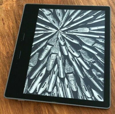 """Amazon Kindle Oasis  (9th Generation) 7"""" 32gb Silver - 2017 - Waterproof 300PPI"""
