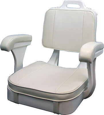 Todd HATTERAS White Ladderback Seat Only, Boat Chair - 40-1050 NO CUSHIONS for sale  Boynton Beach