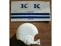 OLD 1970/'s TEXAS A/&M AGGIES SMALL FOOTBALL GUMBALL HELMET DECALS