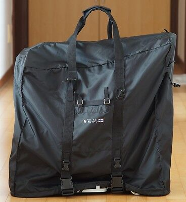 Bike Transport Cover (sobybike transport bag for Brompton, bike cover, foldable and light weight )