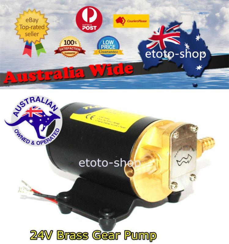 24 Volt Biodiesel Fuel Diesel Oil Transfer Gear Pump Marine 14L/min