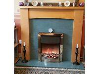 Fire Place PLUS HEATER - QUICK SALE - Excellent Condition