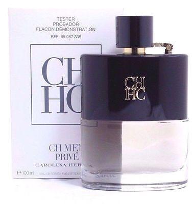 Ch Men Prive By Carolina Herrera 3 4 Oz Edt Spray For Men  Tester