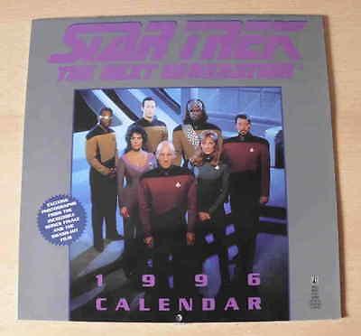 Star Trek: The Next Generation  Kalender von 1996 für Sammler – Poster