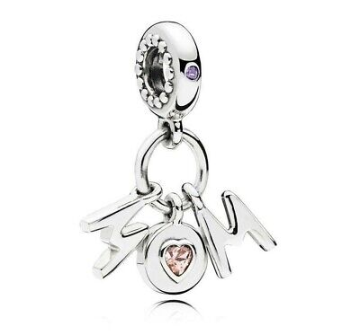 Authentic Pandora Perfect Mom Dangle Charm Bead  797059NSP#