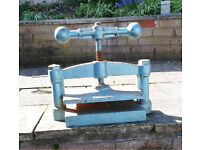Muirs Warranted Cast Iron Press