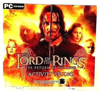 Lord Of The Rings The Return Of The King CD ROM PC (Lotr Return Of The King Pc Game)