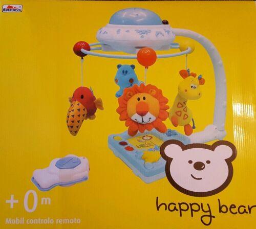 Baby mobile mit Musik und Licht inkl. Infrarot Fernbedienung, Neuwertig