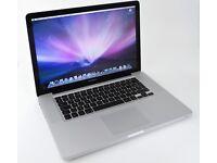 "Apple MacBook Pro A1278, 15.4"" Laptop - i7 ,500GB HDD - 8Gb ram"