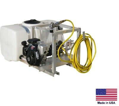 Sprayer Commercial - Skid Mounted - 6 Gpm - 290 Psi - 50 Gallon Tank