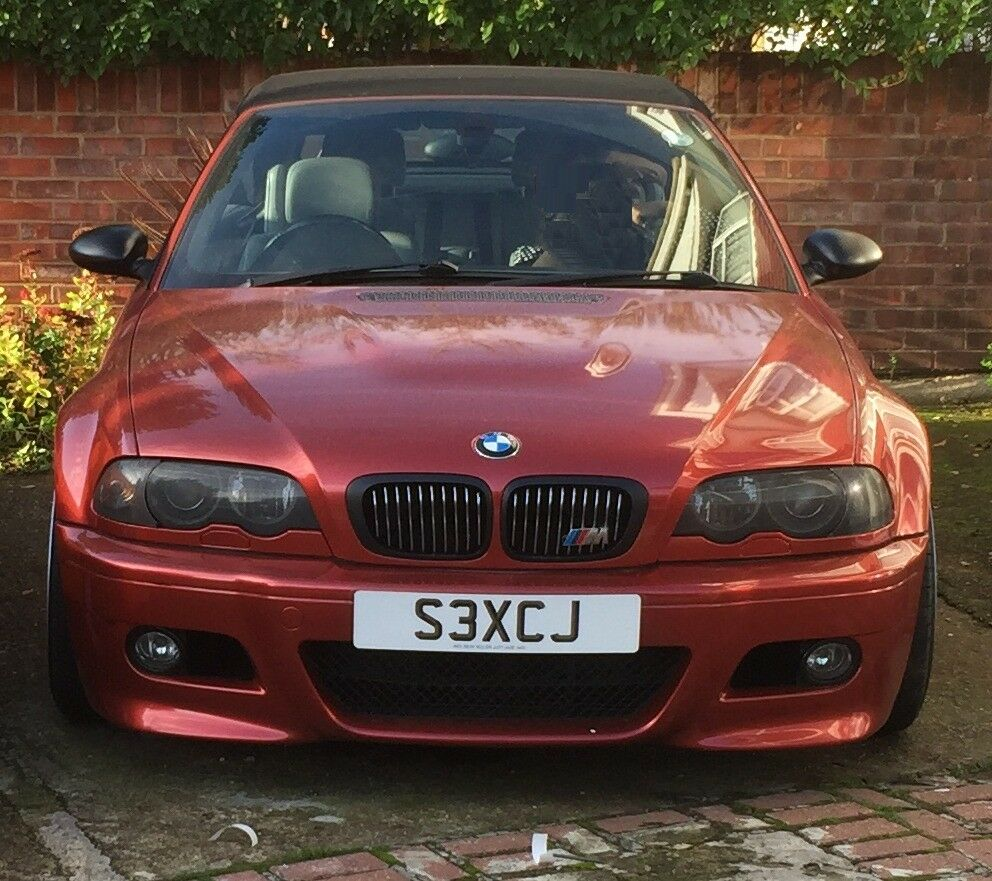 BMW E46 M3 CONVERTIBLE LOW MILEAGE 66,000 !!PRICE REDUCED
