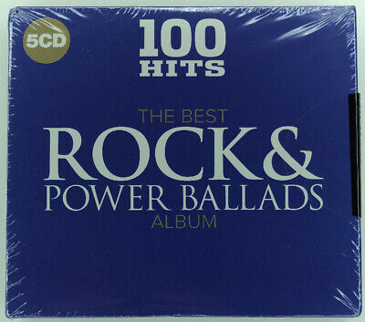 100 Hits The Best Rock and Power Ballads Album - New & Sealed