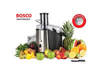 Powerful 850w Bosco Vegetable Juicer/Smoothie machine **NEARLY NEW**