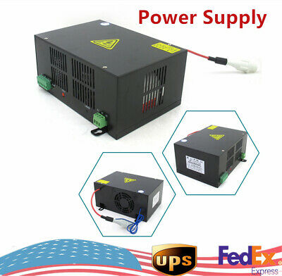 Co2 60watt Laser Cutting And Engraving Tube Power Supply Hy-t60 Fast Shipping