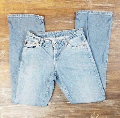 Ralph Lauren Polo Jeans Light Wash Boot Cut Flare Casual Bottoms Size 4 (Polo Ralph Lauren Sale Womens)