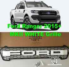 Ford Ranger MKII WHITE Grille Raptor XLT XLS Wildtrak******2016 Hoxton Park Liverpool Area Preview