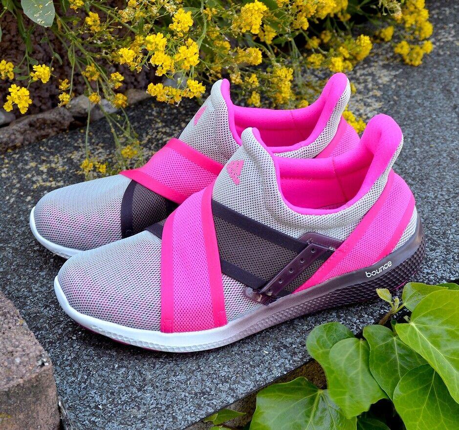 Adidas CC SONIC AL W Damen Slipper Laufschuh Bounce Wasser Schuhe Shoe grau/pink