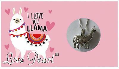 Love Pearl I LLOVE YOU LLAMA Necklace Kit, Simulated Pearl in an - Llama Jewelry