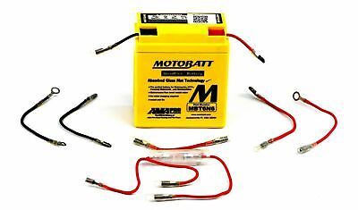 MOTOBATT MOTORCYCLE BATTERY MBT6N6 QUADFLEX 6V 6AH FOR HONDA <em>YAMAHA</em> KA