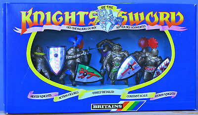 Britains Deetail # 7779 - 8 Shield Knights mint-in-box - 1st version figures