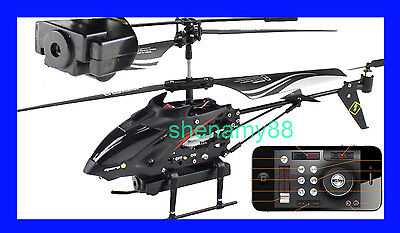 WLToys S215 iPhone / Andoird control 3.5CH RC USB MINI Gyro Camera i-Helicopter on Rummage