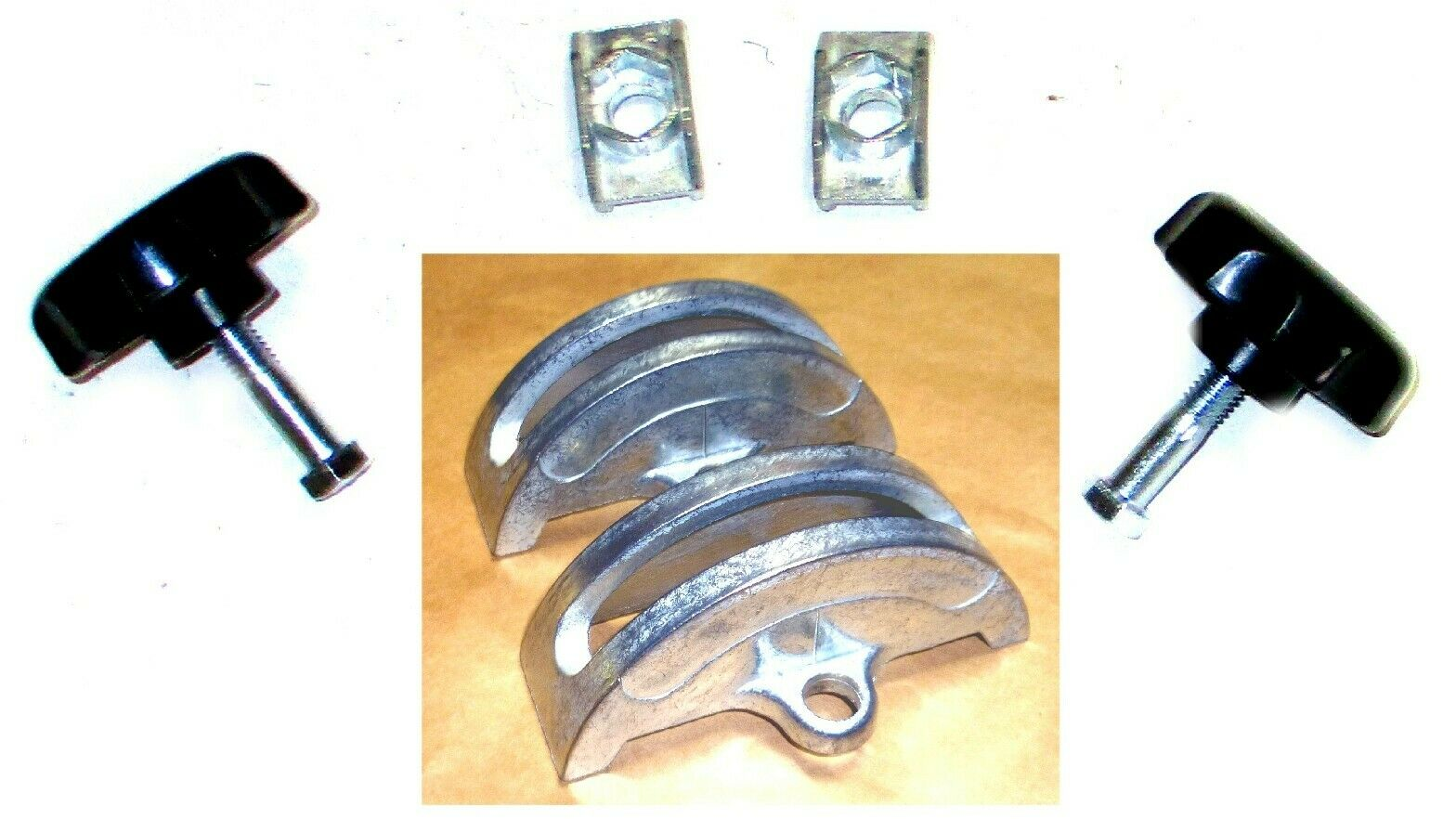 complete trunnions shoes and knob with bolt