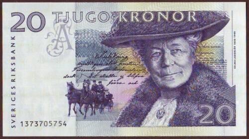 SWEDEN  20 Kronor  1991    Gem UNC