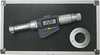 3-point Internal Micrometer Hole Bore Gauge Gage 0.8-1 0.000050.001mm