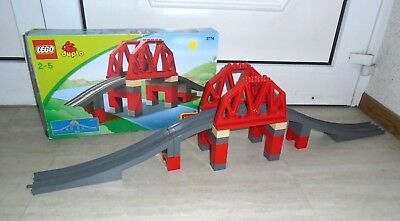 günstig kaufen LEGO Duplo Eisenbahnbrücke 3774
