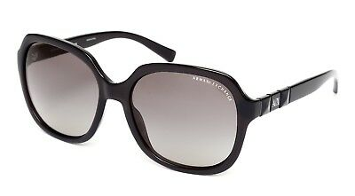 Armani Exchange AX4024S Women's Black Sunglasses 1229