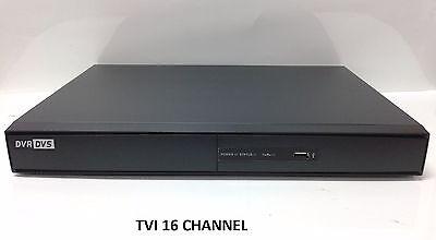 HD-TVI 16 ch channel DVR 1080p Hikvision OEM HDTVI Hybrid TVI/Analog/IP NEW