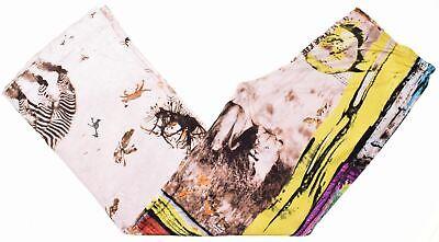 ICEBERG Womens Trousers IT 44 W30 L29 Multicoloured Viscose  KC03