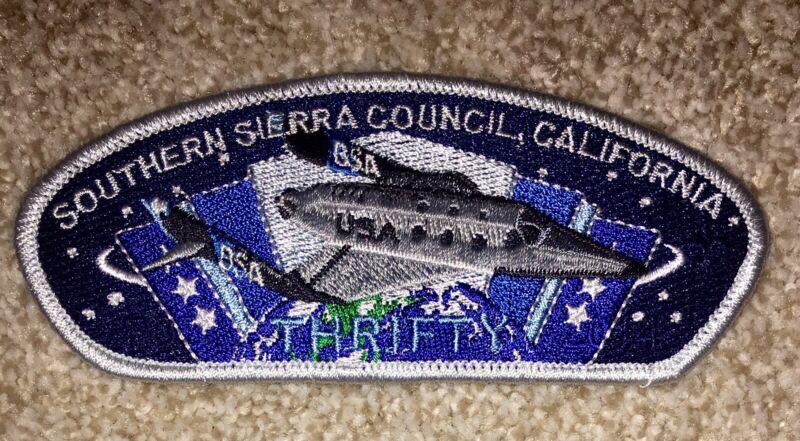 Boy Scout Southern Sierra Council FOS Thrifty Csp /SAP Bakersfield CA Mint