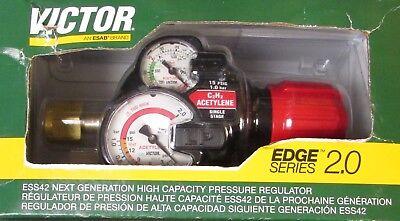 Victor Edge Series 2.0 Acetylene Regulator Ess42 15 300 0781 3603