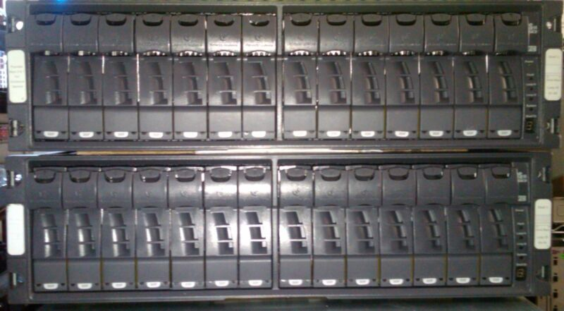 NetApp DS14MK2 Disk Shelf with 14x 300GB 10K FC X276A drives DS14 MK2 Expansion