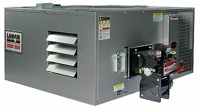 Waste Oil Heaterfurnace Lanair Mxd200 Ductable With Tank And Chimney Kit Sale