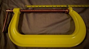 """New - heavy duty 12"""" bessy C-clamps"""