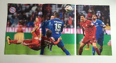 Fc Bayern München Poster Tor Thomas Müller / Torjubel