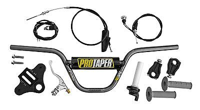 "Pro Taper Chomoly Handlebar Kit Honda CRF50 XR50 Upper Triple Clamp 7"" Inch Rise"
