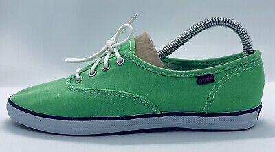 Green Keds Plimsoles/Canvas Shoes - Size 4.5 UK